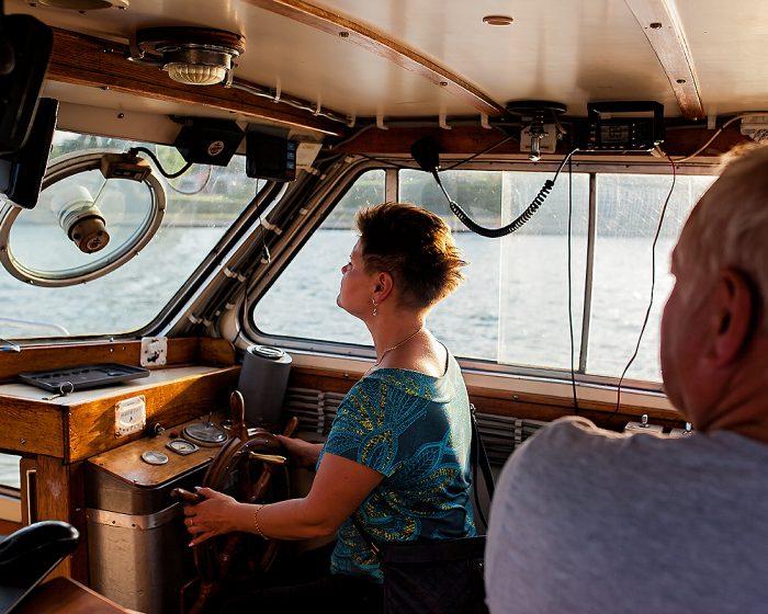 pramoginio laivo nuoma savaitgaliui
